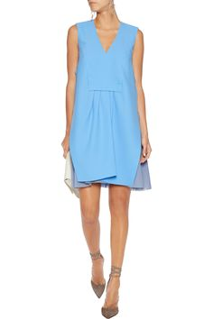 Pleated crepe mini dress | CARVEN | Sale up to 70% off | THE OUTNET