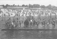 Киевский пляж - фотография 1930-го года