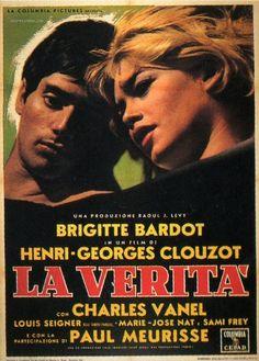 La Verita (The Truth)   Italian movie poster, 1961.