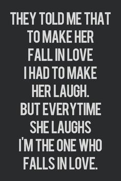 I'm The One Who Falls In Love.