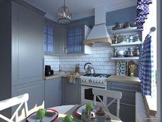 При оформлении интерьера маленькой кухни выбор цветовой гаммы часто бывает проблемой. Большинство дизайнеров сходятся во мнении, что небольшие помещения лучше всего оформлять в белом цвете. И это