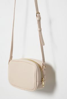 Faux Leather Mini Crossbody