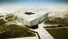 Kulturbunker? Afghanisches Nationalmuseum von Matteo Cainer Architects