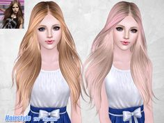 Long hair 194 by Skysims - Sims 3 Downloads CC Caboodle