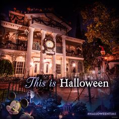Celebrate the season with the Haunted Mansion Holiday, brought to you by Jack Skellington, from Tim Burton's The Nightmare Before Christmas, and the residents of Halloween Town!