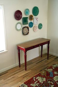 plate wall...would put it in the kitchen