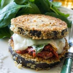 Eggplant Parmesan with Gluten Free Bocconcini Ravioli