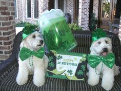 """""""It must be St. Patrick's Day, again..."""""""