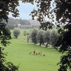 Rantasipi Aulanko golfkentiltä katsottuna Hotel Spa, Helsinki, Finland, Golf Courses, Places, Pictures, Travel, Dreams, Classroom