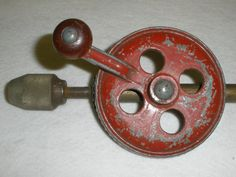 Old Hand Drill Tool