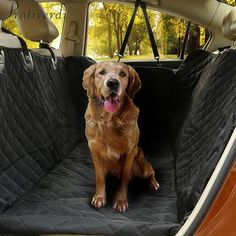Pet Products Useful New Black Pet Dog Cat Car Rear Back Seat Cover Blanket Waterproof Cushion Protector Hammock C42 Home & Garden