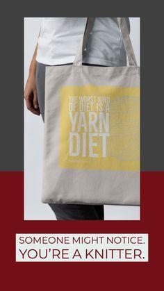 Proper Yarn Home Yarn Store, Knitting Wool, Sock Yarn, Hand Dyed Yarn, Reusable Tote Bags