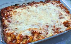 Freezer Meals: Baked Ziti, Our Everyday Dinners
