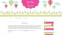 Blog-Templates-For-Teachers-Hot-Air-Balloon-Pink-Cute-HighHopes