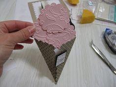 Stamp-n-Design: Ice Cream Cone Card