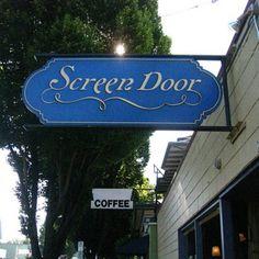 Screen Door. Portland, OR Yummy