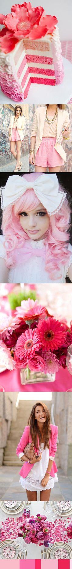 Colour Inspiration Pretty Pinks