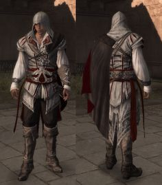 Ezio Auditore's robes, Assassin's Creed II ----wiki :D reference