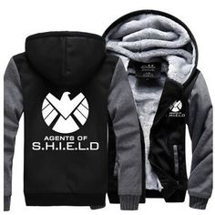 ca092570 Hot New The Avengers Agents of S.H.I.E.L.D. Fleece Mens Hooded Jacket. Darth  VaderStar Wars ...