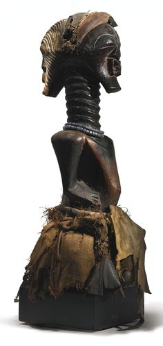 Songye Janus-Headed Power Statue of the name 'Mulange', Democratic Republic of the Congo