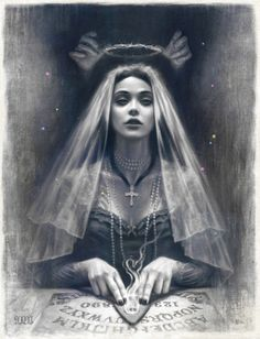 """'Unbound' - A new limited edition print for the Halloween season, 'Unbound' is 11x14"""" including a border for framing, numbered, titled and signed in an edition of 20. Goes on sale via shop.mostlywanted.com on the 14th Oct. -"""