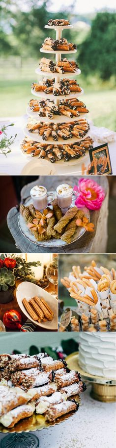 Cannolis and churros to have and to hold