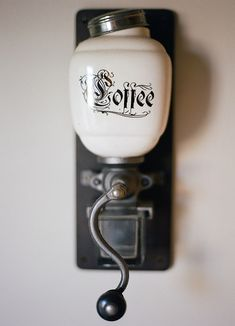 Love this little coffee grinder!