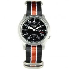 Seiko 5 Military Automatic Mens Watch with Additional Strap Gents Watches, Seiko Watches, Watches For Men, Seiko 5 Military, Seiko 5 Automatic, Watch Sale, Omega Watch, Quality Watches, Accessories