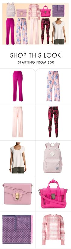 """""""Its Pink World"""" by justinallison ❤ liked on Polyvore featuring Ports 1961, P.A.R.O.S.H., PS Paul Smith, Vivienne Westwood, Grey State, Herschel Supply Co., Dolce&Gabbana, 3.1 Phillip Lim, Gucci and self-portrait"""