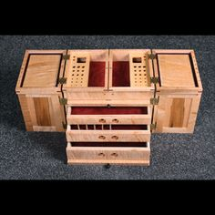 custom carving tool box - Google Search