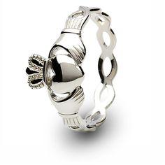 Ladies Claddagh Ring SL-SL46