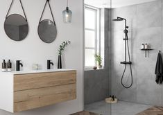 Damixa Silhouet Matt Black Shower System and Basin Tap bathroom with anti-fingerprint surface Southern Home DecorVerlichting - Waterproof fittings - buitenverlichting, tuinverlichting, badkam . Bathroom Trends, Bathroom Sets, Bathroom Interior, Bathroom Remodeling, Simple Bathroom, Modern Bathroom, Bad Styling, Small Bathtub, Walk In Shower Designs