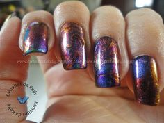 Multi-Chrome Water Marble. THIS IS AMAZING.