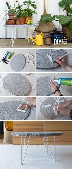 DIY – Granitbord av stenskiva - Anna María