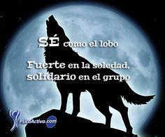 Sé como el lobo