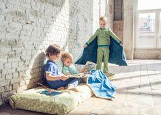 Dutch - digital WOLF Pajama Pattern with additional cape