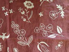 gris - embroidery kit flowers detail (designer: Yumiko Higuchi)