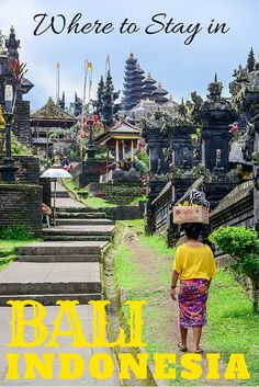 Where to Stay in Bali Indonesia. Don't forget when traveling that electronic pickpockets are everywhere. Always stay protected with an Rfid Blocking travel wallet. https://igogeer.com for more information. #igogeer