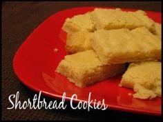 Shortbread Bar Cookies