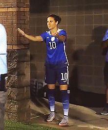"she's like ""im done here"" Soccer M, Carli Lloyd, Ice Baths, Alex Morgan, Under Pressure, Best Player, One Team, First Nations, Olympics"