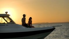 Enjoy a sunset cruise in Mozambique.