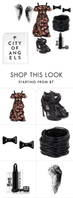 """""""Ruffle"""" by bluediamond40 ❤ liked on Polyvore featuring Alexander McQueen, Marc by Marc Jacobs, Saachi and ruffles"""