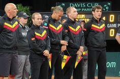 Het Belgische Daviscup Team