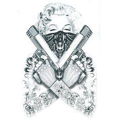 15 Best Gangsta Tattoos Images Gangsta Tattoos Gangster Tattoos