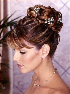 Wedding, Hair, Updo - Project Wedding