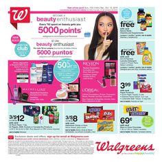 Walgreens Weekly Ad October 9 - 15, 2016 - http://www.olcatalog.com/grocery/walgreens-circular.html