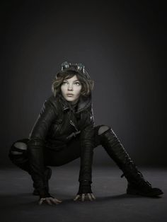 Selina Kyle (Cat Girl) (Gotham TV Series) I love this character/ actor :D