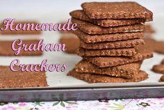 Vegan Graham Crackers. Recipe from http://ohsheglows.com/2010/12/15/vegan-graham-crackers/#.