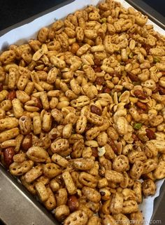 Nuts & Bolts - Nutrigrain Recipe
