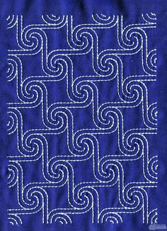 Japanese Embroidery Designs 17 Best images about Sashiko on - Embroidery Designs, Hand Embroidery Patterns, Vintage Embroidery, Quilting Designs, Embroidery Stitches, Machine Embroidery, Quilt Patterns, Embroidery Supplies, Simple Embroidery